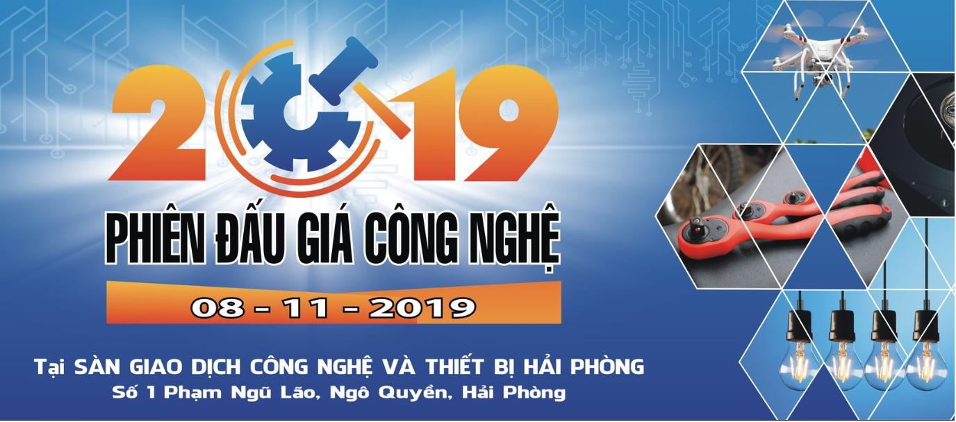 Phiên bán đầu giá công nghệ Hải Phòng 2019